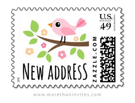 new address moving announcement us postage st