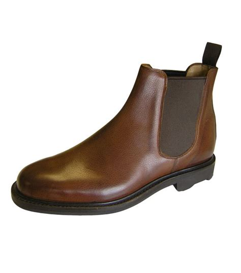 Handmade Mens Boots Uk - tyndrum chelsea boot by hoggs of fife handmade boots