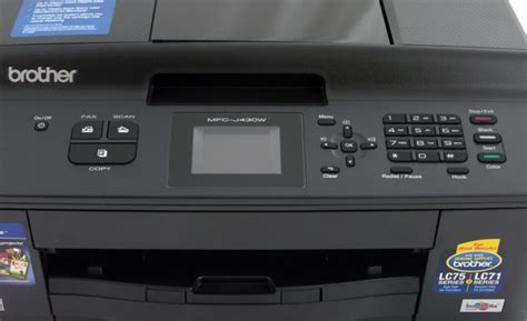Printer Mfc J430w mfc j430w review look notebookreview
