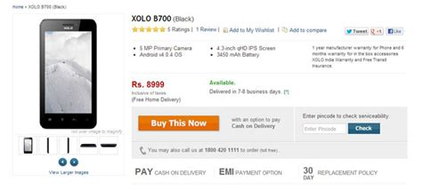 Hp Lava Xolo B700 the durable lava xolo b700 comes to india phones review