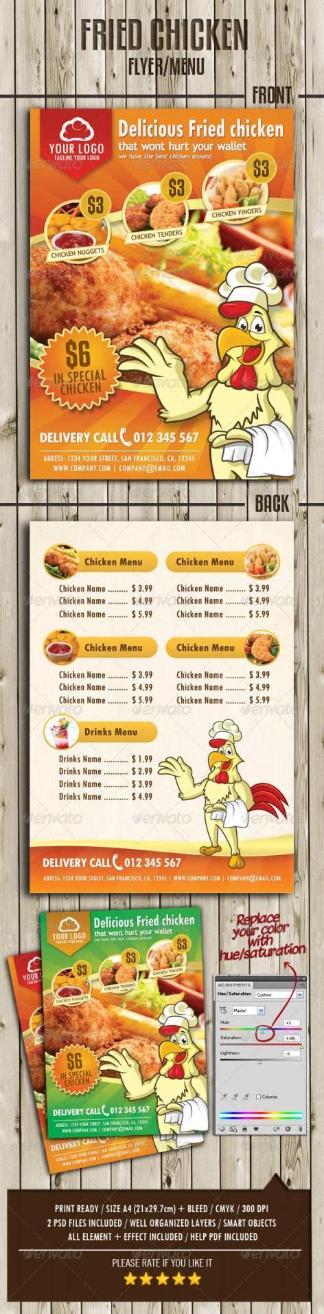 template flyer menu 45 best restaurant and food flyer templates