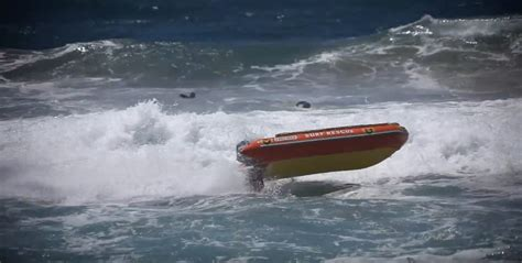 surf boat fails watch failure at full throttle how not to rescue a