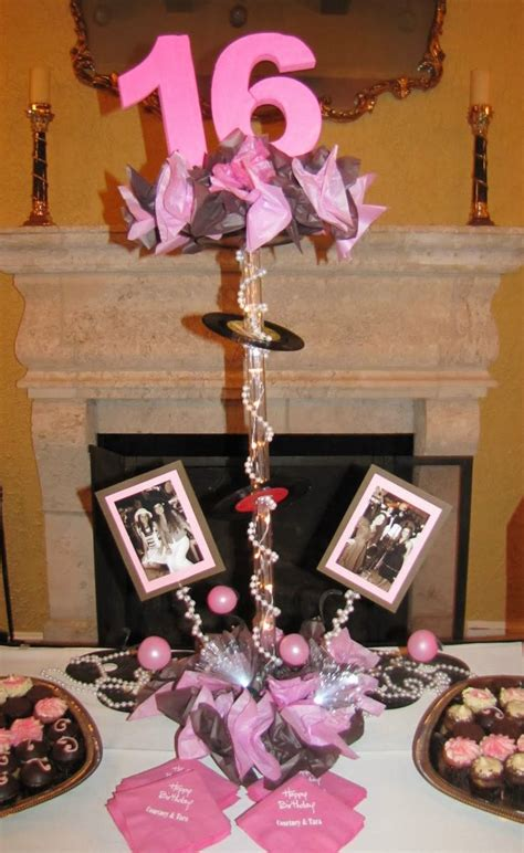 diy sweet 16 centerpieces celebration company custom balloon decor