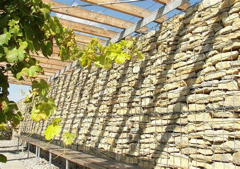 Bilder Zu Gartengestaltung 2168 gabionen l 228 rmschutzwand gabione in verbindung mit einer