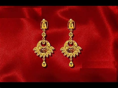 light weight gold earrings designs with price gold earrings designs light weight gold