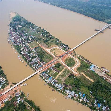 wujud jembatan terpanjang  kalimantan maftuhi net