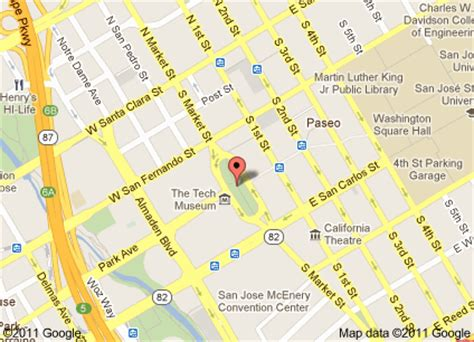 parking san jose downtown map december s season of celebrations in