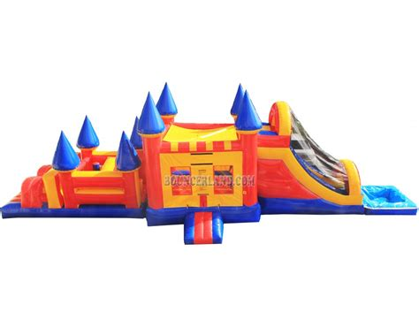 commercial bounce house bouncerland commercial inflatable combo 3033p