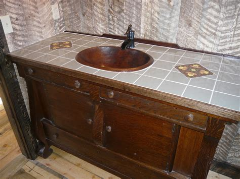 Rustic Vanities For Bathrooms 25 Rustic Bathroom Vanities To Make Your Bathroom Look Gorgeous Magment