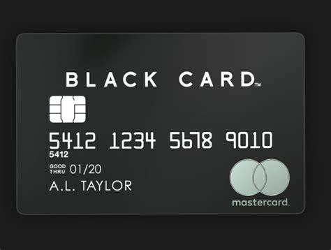 Black Card Invitation Mastercard mastercard black card