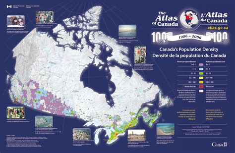 canadian map population density canada population density map maps on the web