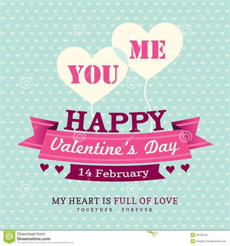 s day card template in valentines day invitation card design template rib stock