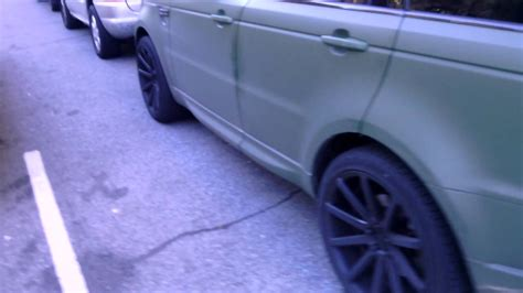 army green range rover range rover matte army green youtube