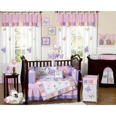 Purple Butterfly Crib Bedding Jojo Pink And Purple Butterfly Crib Bedding The Frog And The Princess
