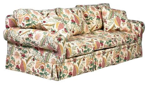 floral print couches sold out designer yellow floral sofa 3 850 est retail