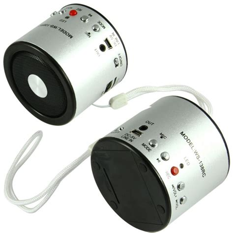 codice ufficio rcc cassa speaker portatile con registratore accessori vari