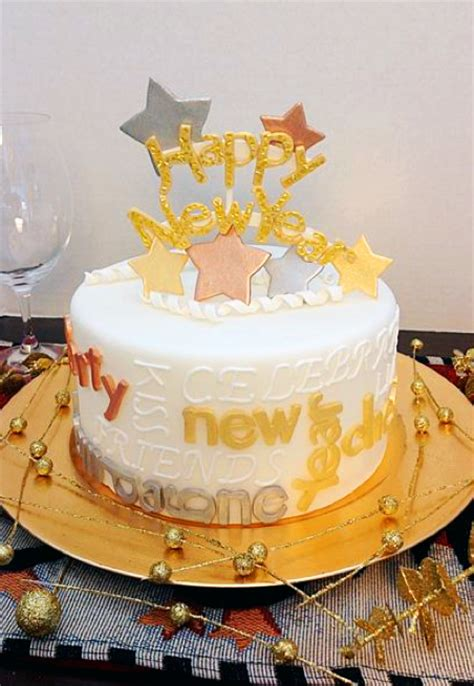 new year cake designs happy new year from on cake a day one cake a day