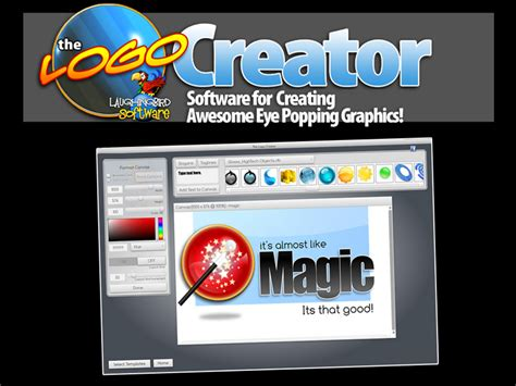 cheap logo design software the logo creator the logo creator by laughingbird