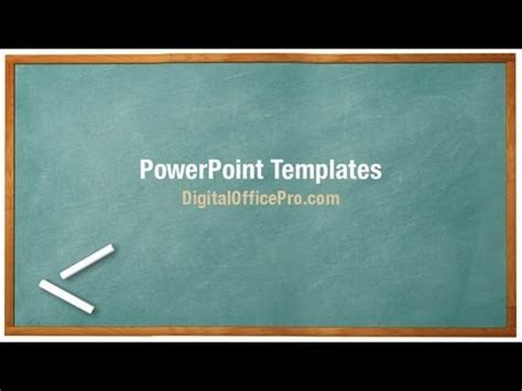 black board design powerpoint templates black education green chalkboard powerpoint template backgrounds