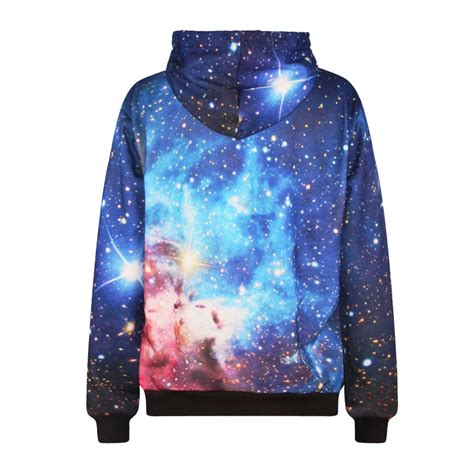 Jaket Sweater Hoodie Jumper Biru Less Is More Keren harajuku galaxy hoodie sweater jacket unisex 183 kawaii harajuku fashion 183