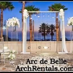 Wedding Arch Rentals Los Angeles by Modern Wedding Arch Altar And Column Rentals In Los