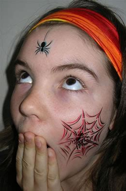 spider face tattoo spider images designs
