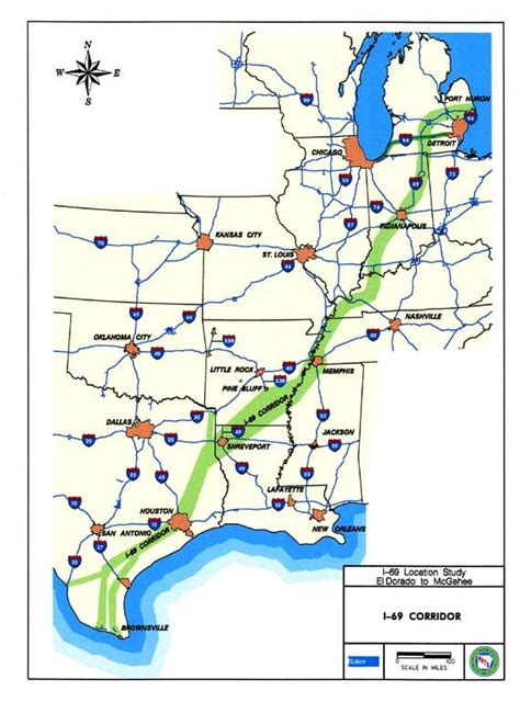 i 69 texas corridor map us map with interstate highways like success