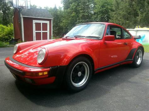 porsche 911 whale turbo turnkey whaletail 1986 porsche 911 turbo bring a trailer