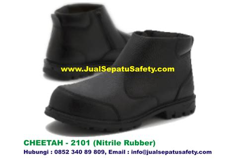 Sepatu Safety Shoes Cheetah 7012h Diskon sepatu safety shoes cheetah 2101 semi boot resleting