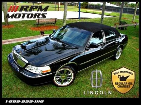 buy  stunning triple black lincoln town vogue tires