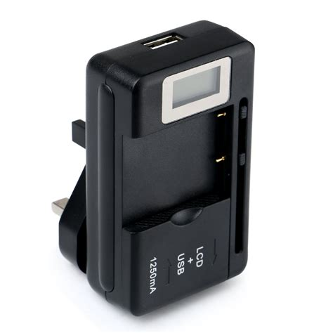 Lcd Usb Charger mobile universal battery charger lcd indicator screen for