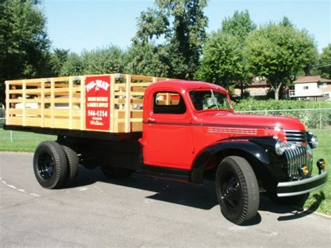 stake bed truck november 2005 featured item