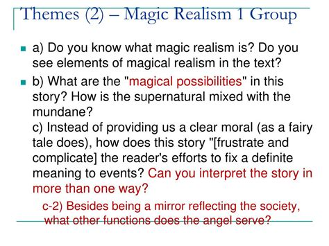 Magical Realism Essay by Magical Realism A With Wings Essay