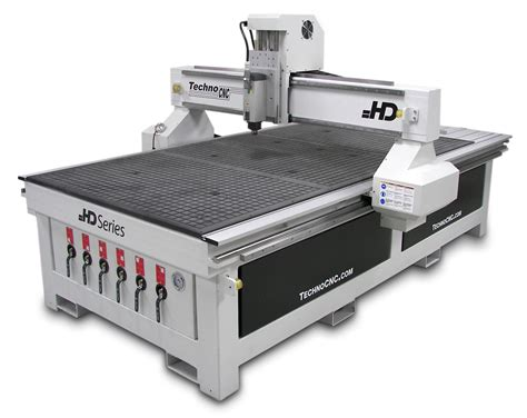 Router Cnc Techno Cnc Routers Introduces New Hd Series Cnc Router