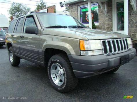 gold jeep grand cherokee 1998 char gold satin glow jeep grand cherokee laredo 4x4