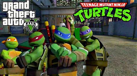 mod game ninja tmnt gta5 ps4 create ninja turtle turtle van on gta 5