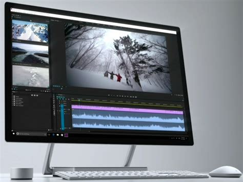 Komputer Microsoft microsoft announces its desktop pc the surface studio business insider