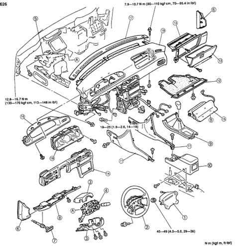 airbag deployment 1984 mazda 626 user handbook service manual how to remove 1984 mazda 626 steering airbag mazda 626 project remove install