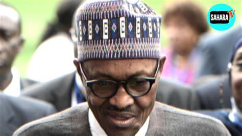 president buhari s impaired voice sallah greeting of