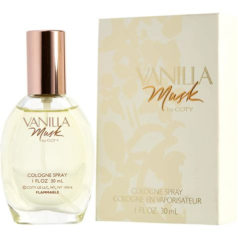 Parfum Musk vanilla musk cologne for by coty fragrancenet 174