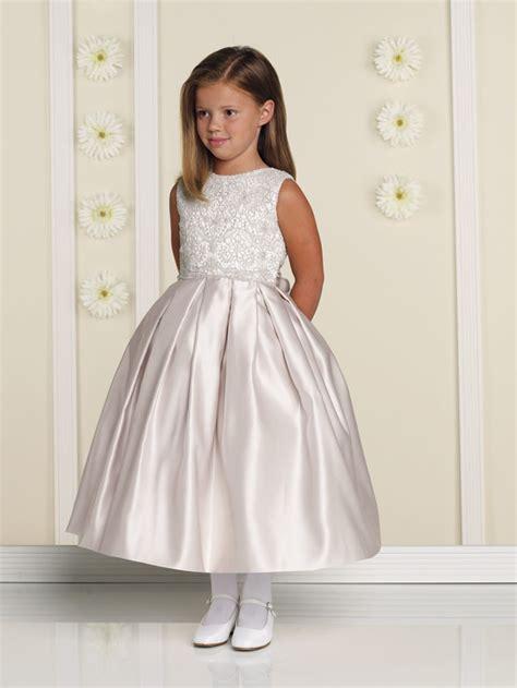joan calabrese  flower girl dress madamebridalcom