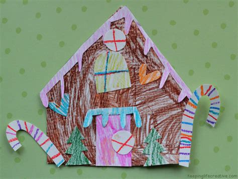 printable gingerbread house pieces build your own gingerbread house craft for kids