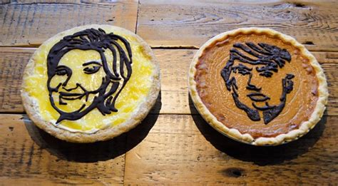 Achatz Handmade Pie Co - poll are you with hillacream or trumpkin you decide