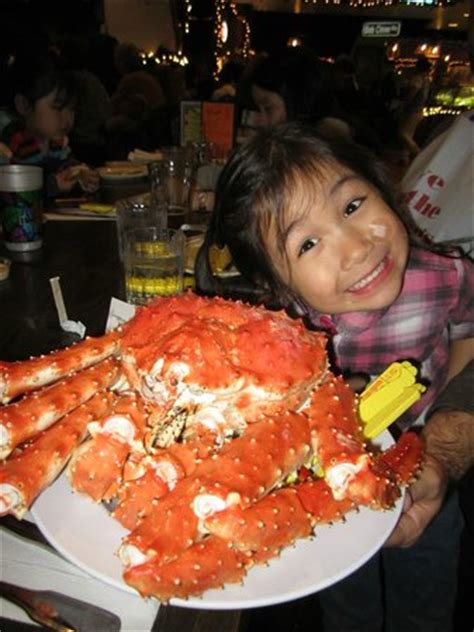 alaskan king crab house menu 4 5 pounds of alaskan king crab picture of bob chinn s crab house wheeling