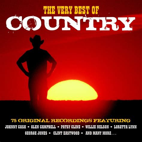 country music cd various artists the very best of country not now music