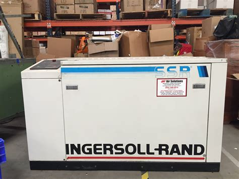 ingersoll rand ssr ep15u rotary air compressor listing 524042
