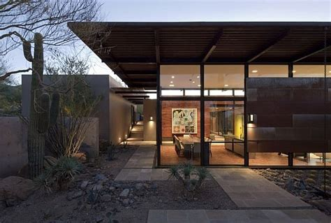 welcoming modern home in the arizona desert the brown