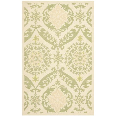 Karolus Area Rug Home Decorators Collection Karolus Green 2 Ft 6 In X 4 Ft 6 In Area Rug 3242210820 The