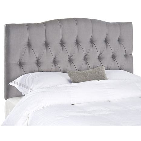tufted headboard full safavieh axel tufted headboard full 7834450 hsn