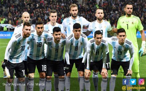 detiksport argentina argentina masuk grup paling panas detiksport